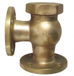 JIS F7418 16K Marine bronze lift check angle valve(Union bonnet type)