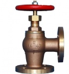 JIS F7410 16K Marine Bronze screw down check angle valve