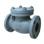 JIS F7372 5K Marine cast iron swing check valve