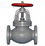 JIS F7377 16K Ship cast iron screw down non return check globe valve