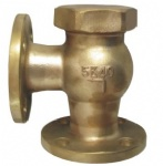 JIS F7416 5K Marine bronze lift check angle valve(Union bonnet type)